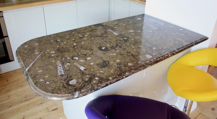 Fossil Furniture Tables Worktops Kitchen Breakfast Bar